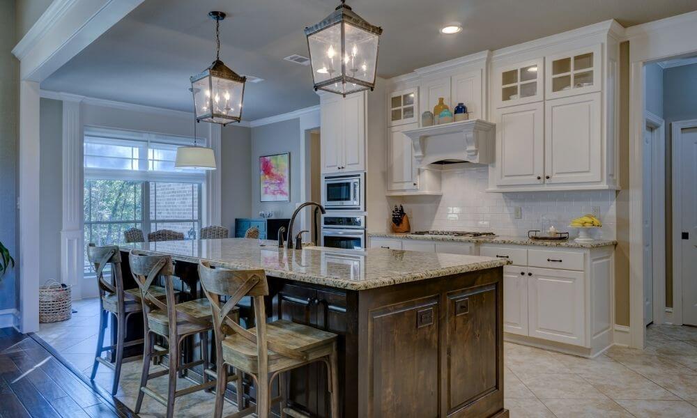 Kitchen window treatments ideas in Michigan